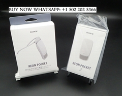 SONY REON POCKET 2 RNP-2/W ver.2021 cold and warm Wearable Thermo + RNPB-N1/W