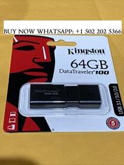 Kingston DataTraveler 100 G3 16GB/32GB/64GB USB 3.1/3.0 Flash Drive
