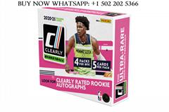 2020/21 Panini Clearly Donruss Basketball Hobby Box Factory Sealed