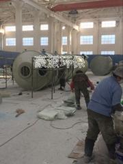 玻璃鋼碱噴淋塔 有機廢氣碱洗裝置