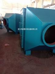 山東活性炭除臭設備青島活性炭吸附箱