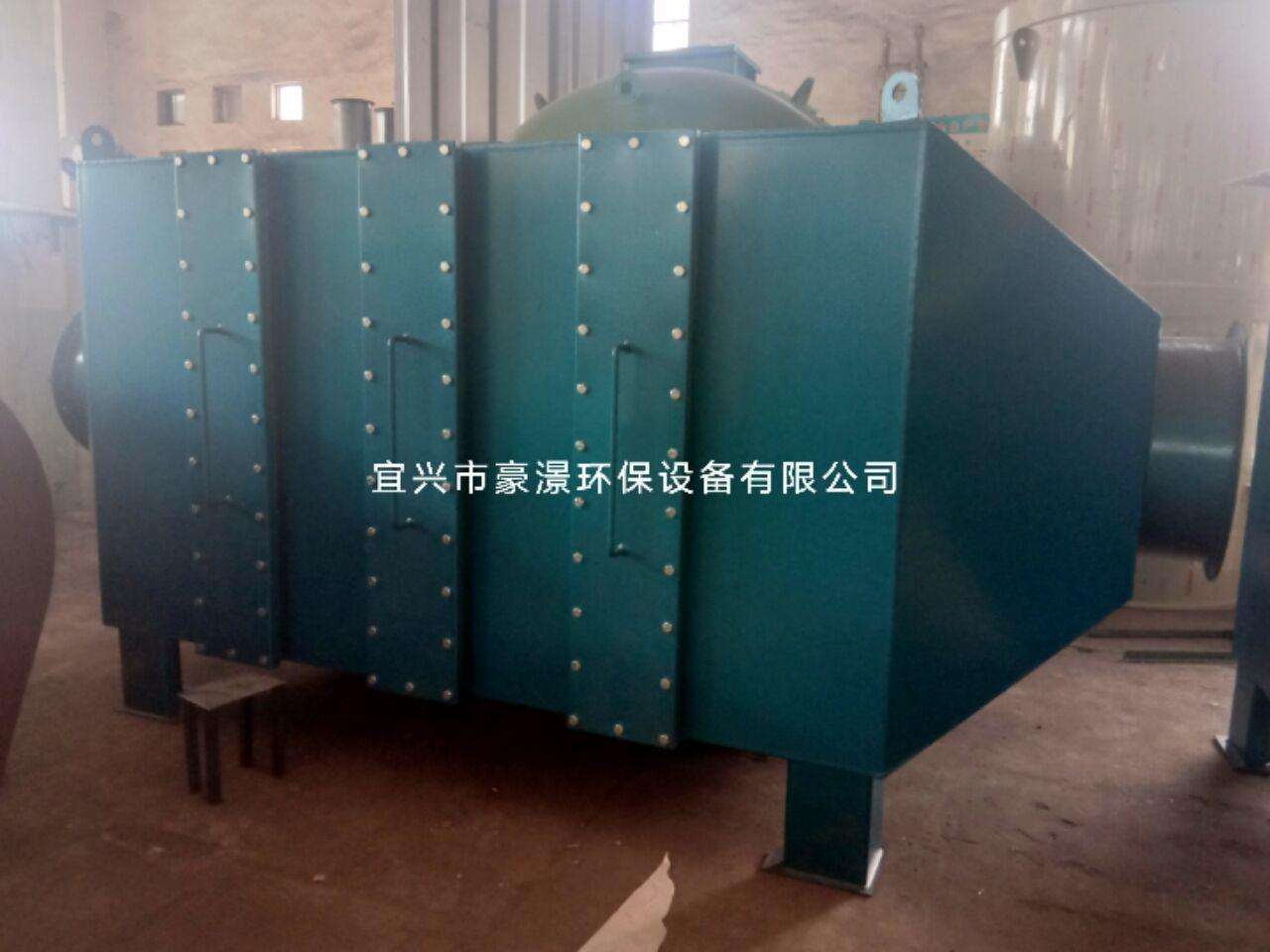 山東活性炭除臭設備青島活性炭吸附箱 2