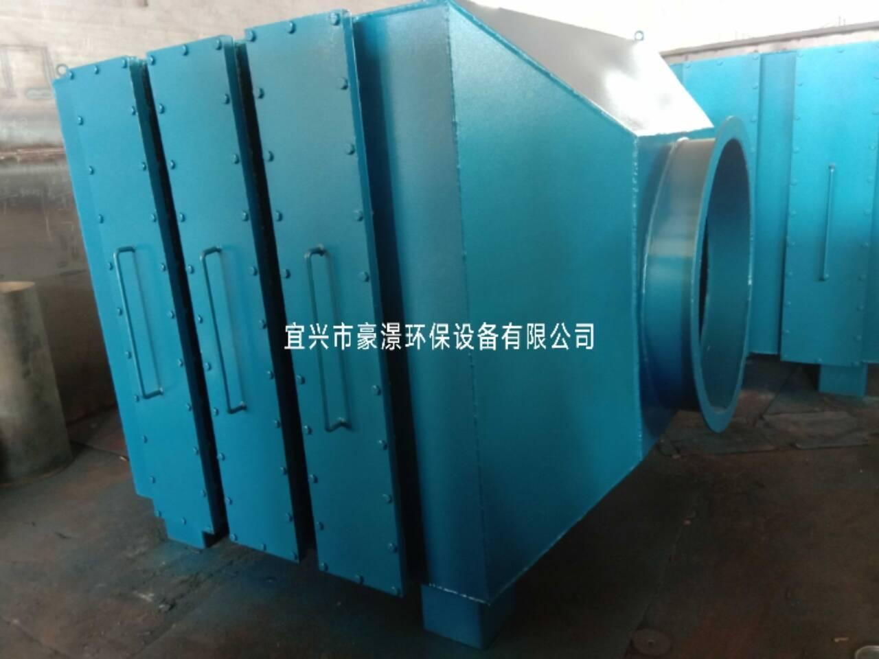 山東活性炭除臭設備青島活性炭吸附箱 3