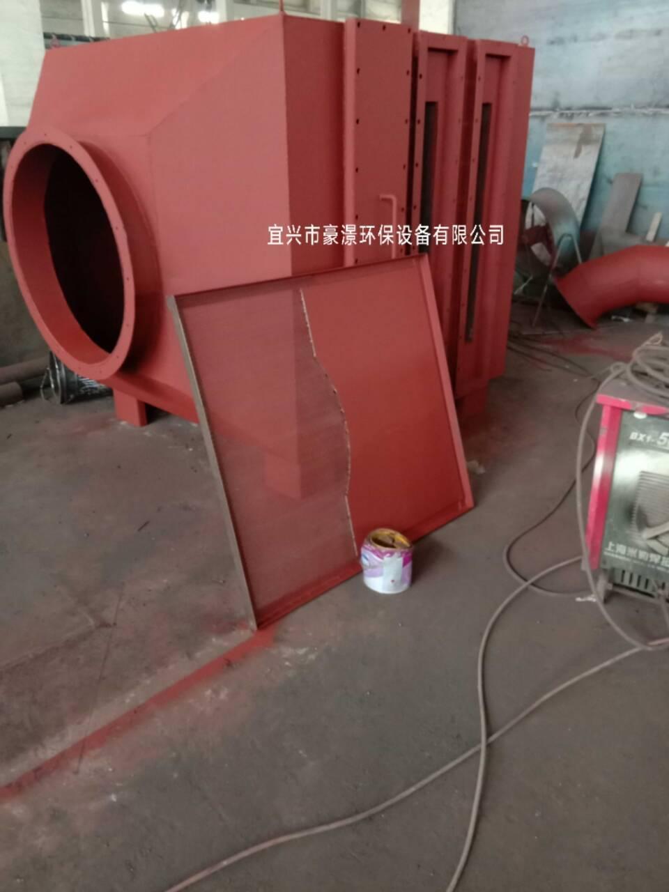山東活性炭除臭設備青島活性炭吸附箱 4