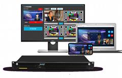 LiveMIX Cloud 多通道視頻連線製作系統