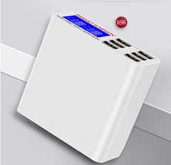 QC3.0 USB charger 6-port