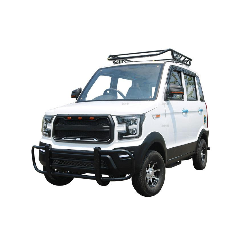Electric four-wheeled vehicle, new energy electric vehicle, adult petrol-electri 2