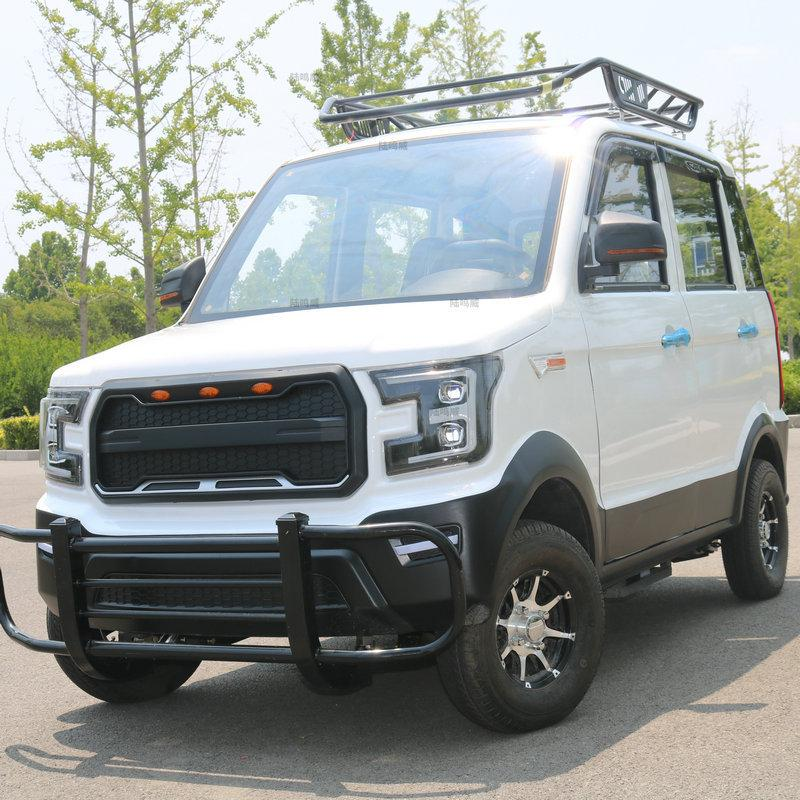 Electric four-wheeled vehicle, new energy electric vehicle, adult petrol-electri 3
