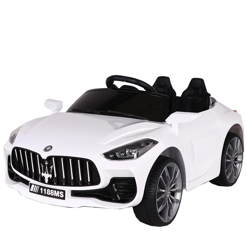 Children's electric car four-wheel dual-drive electric car can sit on people toy