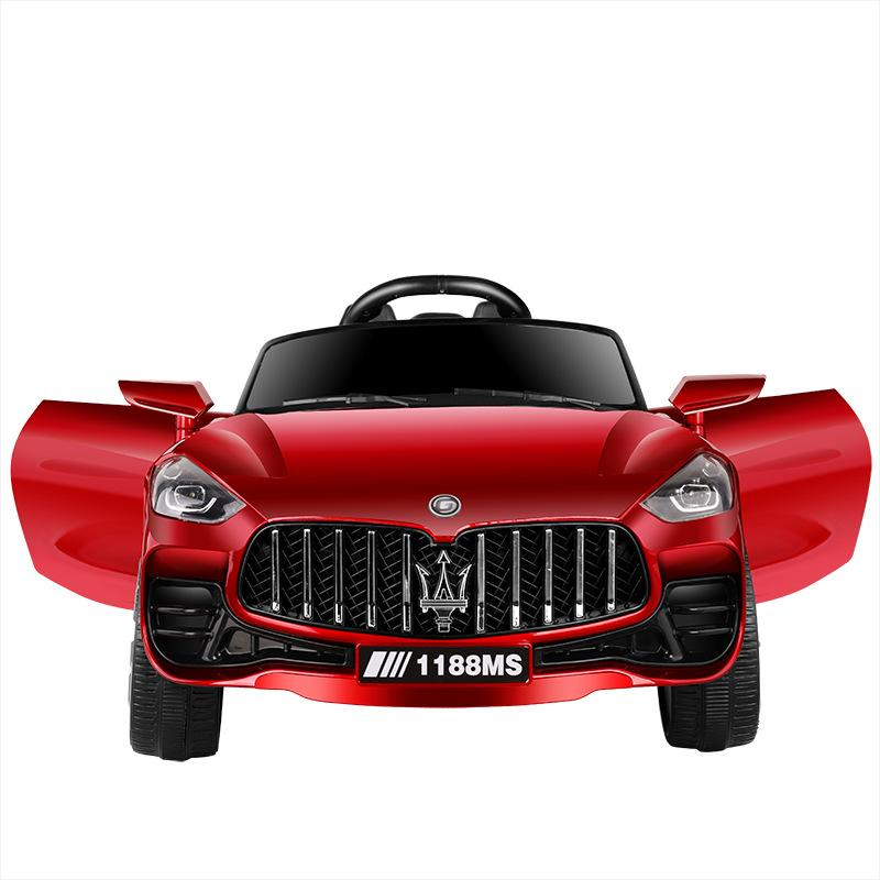 Children's electric car four-wheel dual-drive electric car can sit on people toy 3