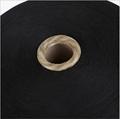 Keshu black Color custom Ne8s/1 oe low twist recycled cotton yarn for gloves 2