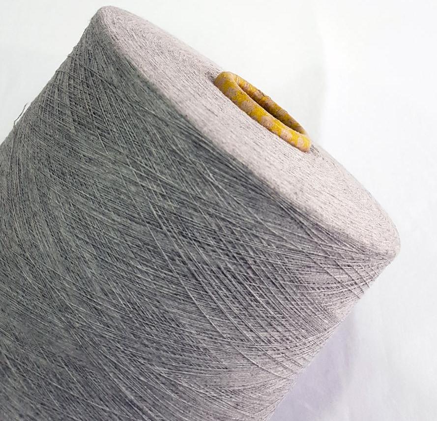 Keshu hot sale cheap price to russia Ne 10/1 grey knitting gloves yarn 2