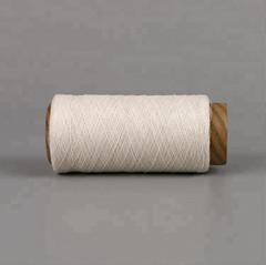 Keshu recycled polyester cotton 70/30 yarn raw white NE6S gloves yarn