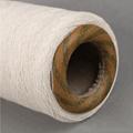 Keshu recycled polyester cotton 70/30 yarn raw white NE6S gloves yarn 4