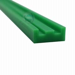 高分子绿色导轨 灌装机械用聚乙烯弯轨聚乙烯链条导向件