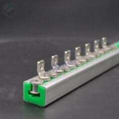 超高分子量聚乙烯链条导轨可定制单排双排t型塑料滑轨upe链条导轨