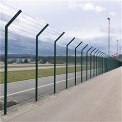 Chain Link Fence    Green Chain Link Fencing     Metal Palisade Fencing