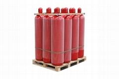 267-68L-150Bar Fire Extinguisher Cylinder CO2 Gas Cylinder