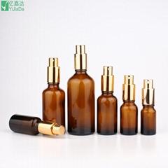 Glass perfume spray bottles essential oil bottles