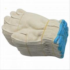 Industrial Garden Cotton Gloves PVC Dotted Gloves Safety Labor Work Gloves
