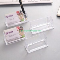 Professional Acrylic Card Stand Vendor With Top Quality Price