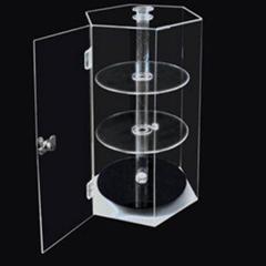 Rotatable Large Acrylic Display Case   Best Acrylic Displays