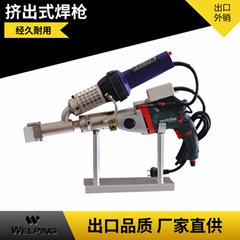 塑料擠出式焊槍PE/PP/PVC手提式熱風熱熔塑料焊機WP40H焊槍3400W