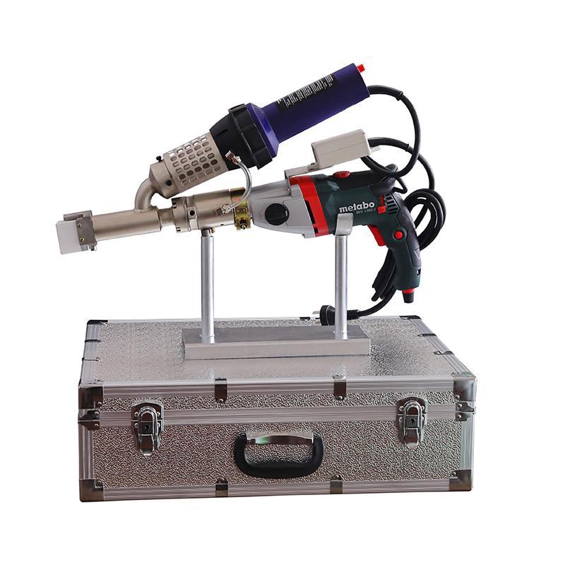 塑料擠出式焊槍PE/PP/PVC手提式熱風熱熔塑料焊機WP40H焊槍3400W 2