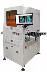 CCD視覺尺寸檢測設備 精密軸承篩選機 產品外觀缺陷機器替代品檢