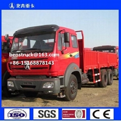 Beiben North Benz 6*6 All Wheel Driving Cargo Lorry Truck for Sale