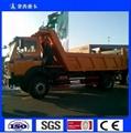 BEIBEN 4*2 Tipper Dump Truck North Benz 6 Tires Dump Truck 10 Cubic Meters for S