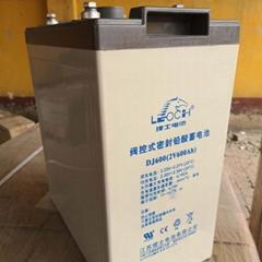 理士2V600AH 铅酸蓄电池DJ2-600直流屏UPS/EPS通信电源太阳能包邮