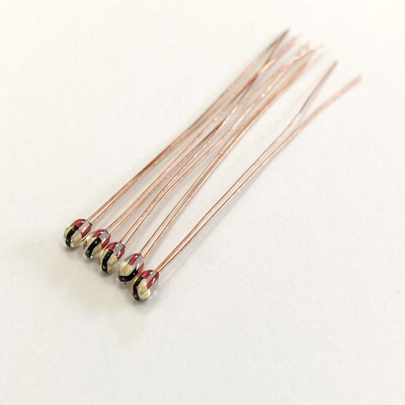 热敏电阻小皮线水滴状10K100K3435.3950 PCV环氧包封 2