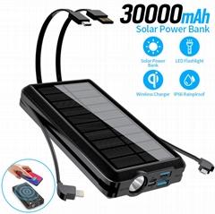 30000 mA solar mobile po