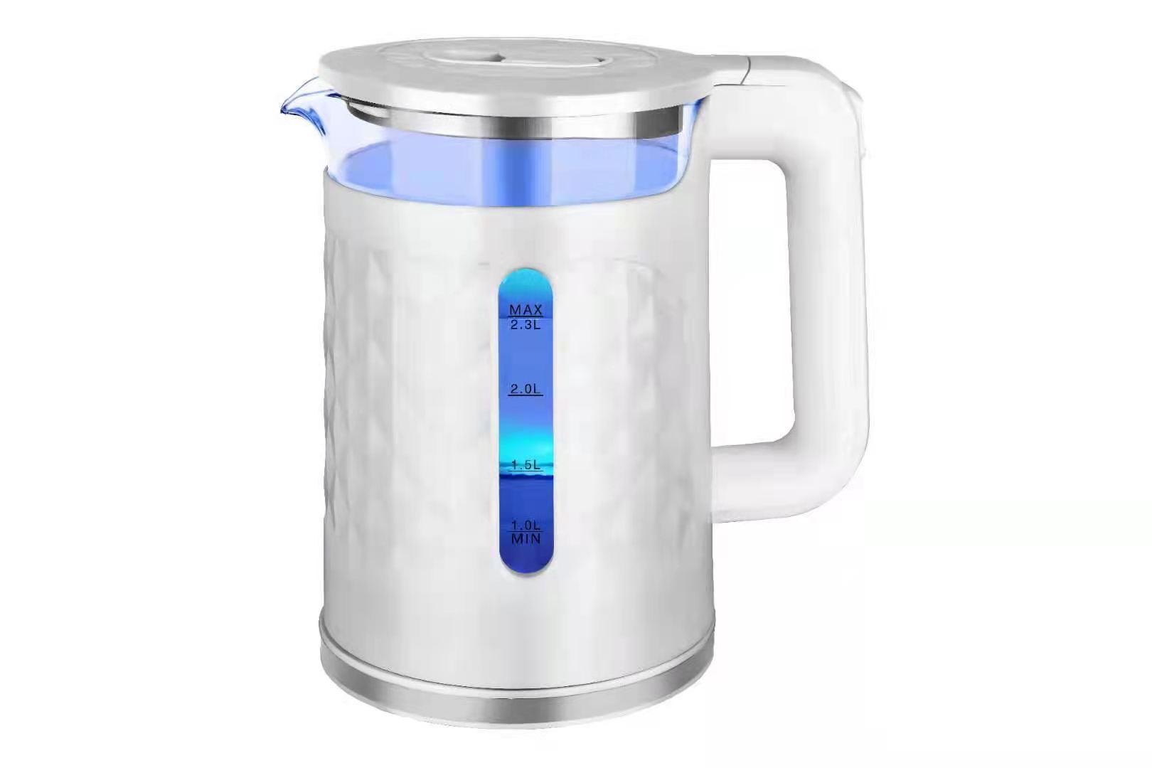 2.3L Electric Fashion Glass Kettle  1