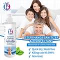 Alcohol-free Spray Rinse-free hand sanitizer soap 3