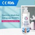 Alcohol-free Spray Rinse-free hand sanitizer soap 5