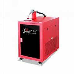 鋁板鋼板1000w光縴手持焊廠家漢馬激光