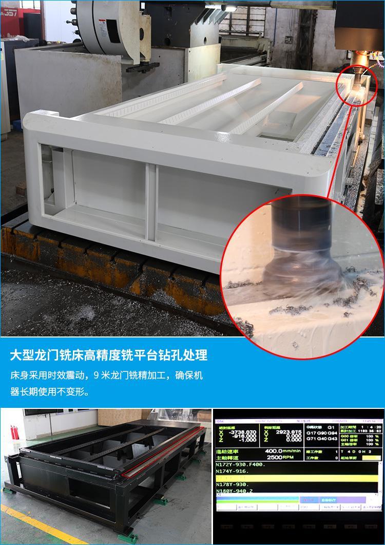 不锈钢镀锌板碳钢光纤激光切割机 精度高 金属激光切割机 2