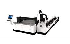 敞开式金属激光切割机 板管一体光纤激光切割机