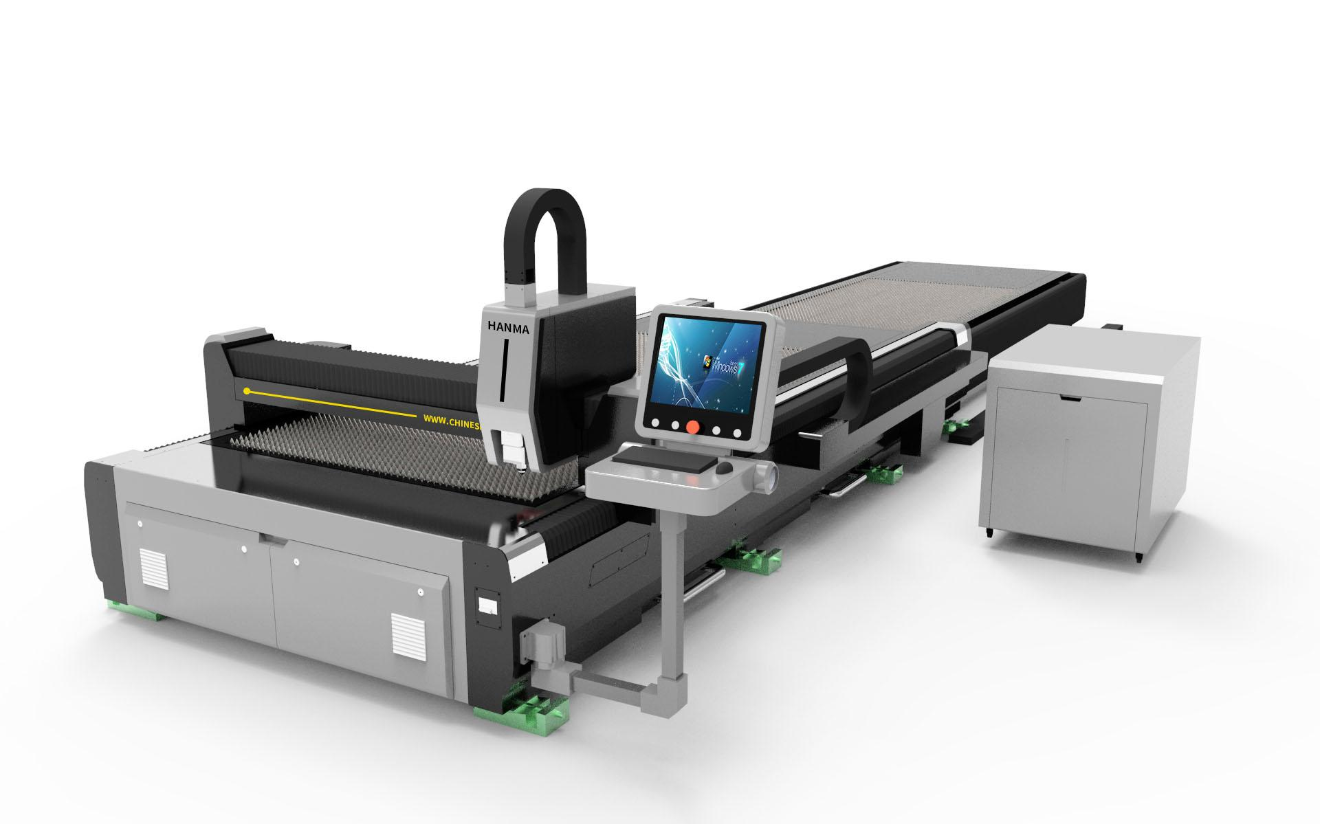 1530交换平台光纤切割机 钣金双平台激光切割机 1