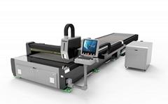 1530交换平台光纤切割机 钣金双平台激光切割机