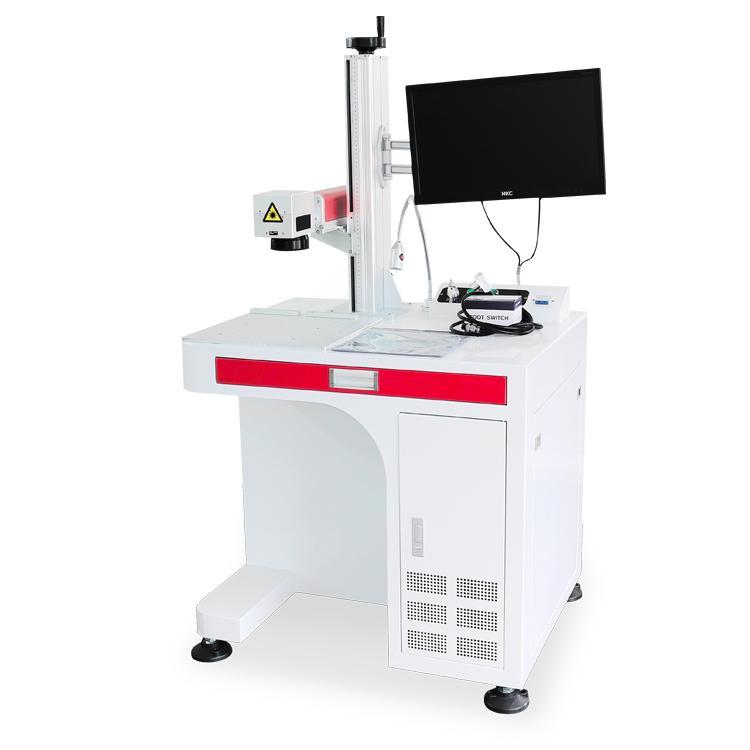 20w工艺品商标打标光纤激光打标机 1