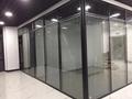 上海办公室玻璃隔断-上海百叶玻