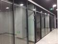 上海办公室玻璃隔断-上海百叶玻璃隔断 2