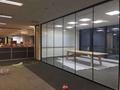上海辦公室玻璃隔斷-上海百葉玻璃隔斷 4