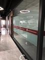 上海办公室玻璃隔断-上海百叶玻璃隔断 5