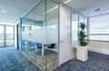 无锡办公室玻璃隔断-无锡百叶玻