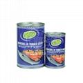 Factory price Canned Fish Tin Mackerel