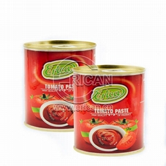 High Quality Easy Open Double Concentrated Tin Tomato Paste 28-30% Brix